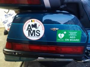 Moto's en auto's bestuur