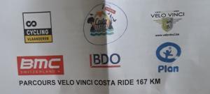 Velo Vinci Costa Ride 18 august 2019